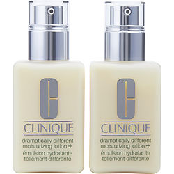 Clinique By Clinique Dramatically Different Moisturizing Lotion Duo Pack (Very Dry To Dry Combination With Pump) - 2x125ml/4.2oz