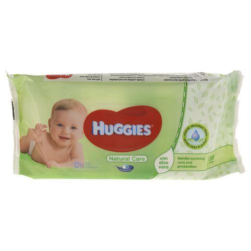 Baby Wipes Natural Care with Aloe Vera