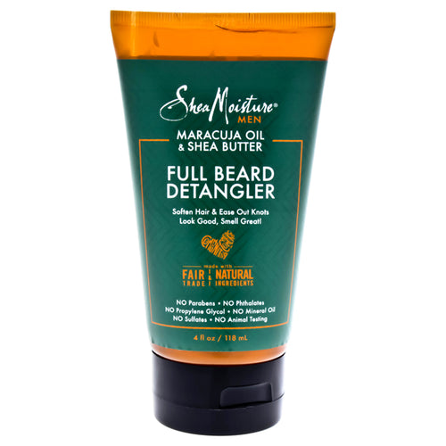 Maracuja Oil & Shea Butter Beard Detangler Soften Hair & Ease Out Knots 4 oz Balm