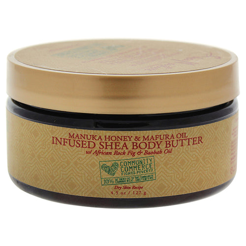 Manuka Honey & Mafura Oil Infused Shea Body Butter