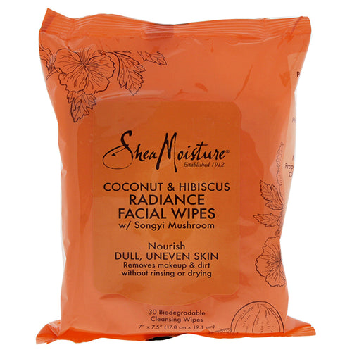 Coconut & Hibiscus Radiance Facial Wipes