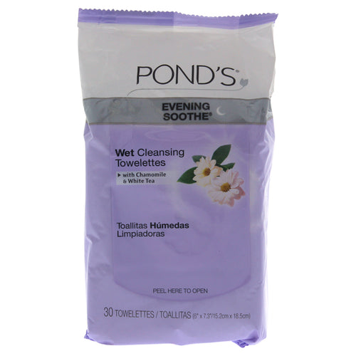 Evening Soothe Wet Cleansing Towelettes