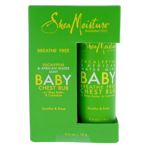 Eucalyptus & African Water Mint Baby Chest Rub 0.6 oz Ointment