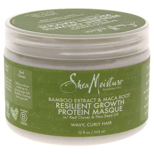 Bamboo Extract & Maca Root Resilient Growth Protein Masque
