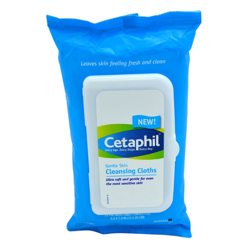 Gentle Skin Cleansing Cloths - Sensitive Skin