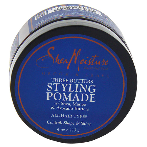 Three Butters Styling Pomade Control Shape & Shine