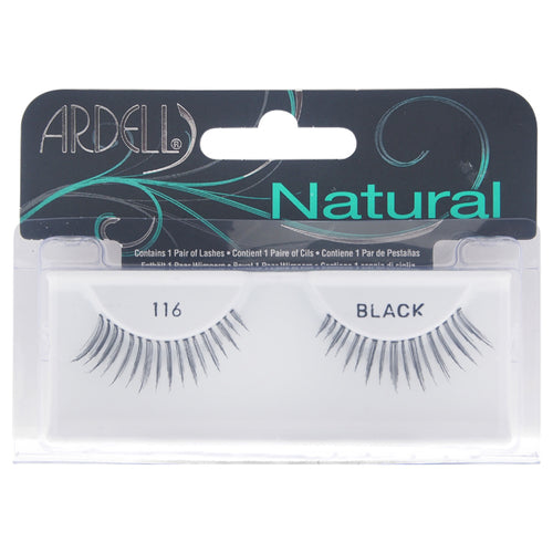 Natural Lashes - # 116 Black