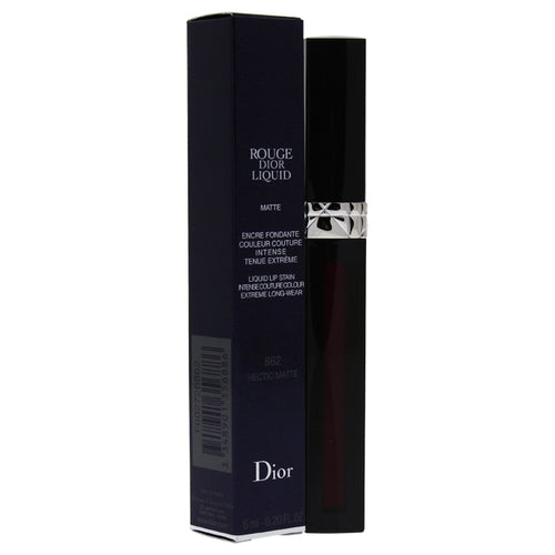 Rouge Dior Liquid Lip Stain - # 862 Hectic Matte 0.2 oz Lip Gloss