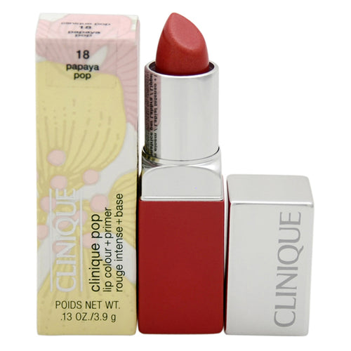 Clinique Pop Lip Colour + Primer - # 18 Papaya Pop 0.13 oz Lipstick