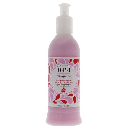 Avojuice Peony and Poppy Hand & Body Lotion