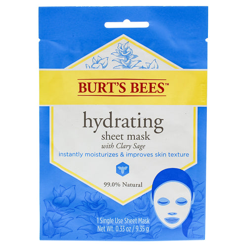 Hydrating Sheet Mask with Clary Sage 0.33 oz Mask