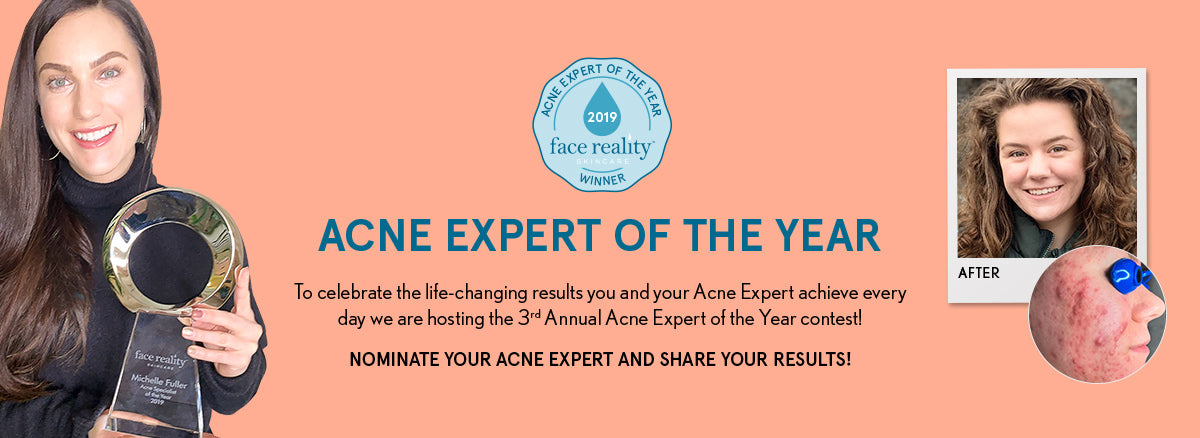 Acne Expert of the Year 2020: Nominate Your Acne Expert and Share Your Results