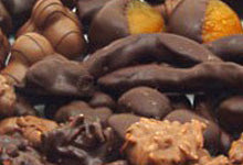 Fruit and Nut Chocolate and Hard Centres