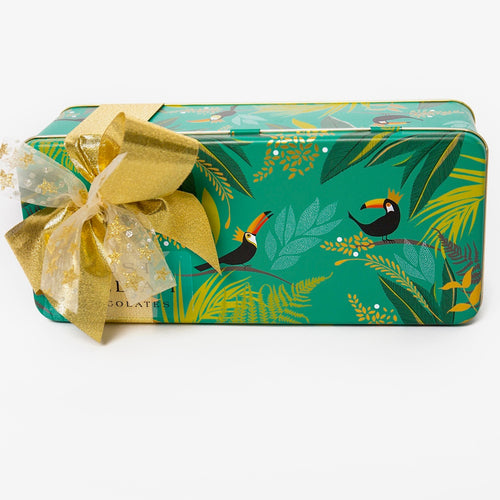 Christmas Toucan Tin