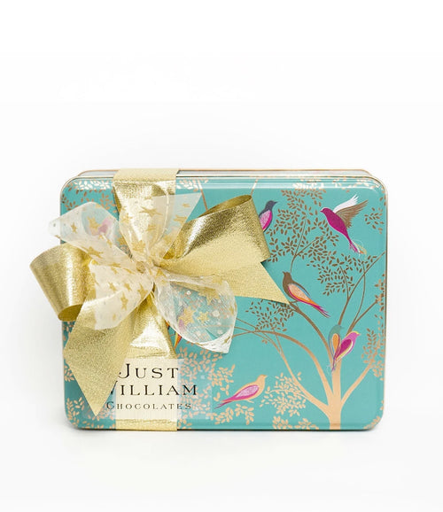 Christmas Green Bird Tin