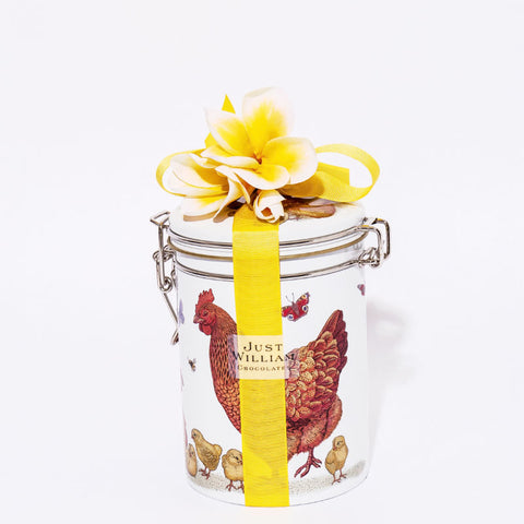 Easter Giraffe Tin