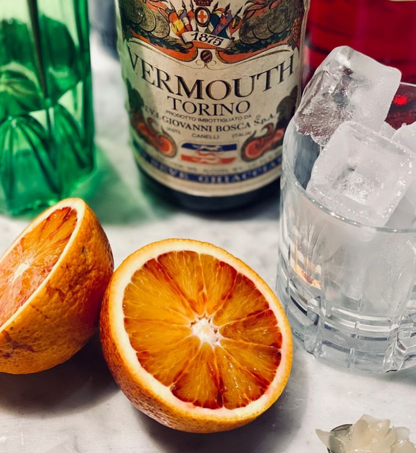Rocca Negroni, a nice winter warmer cocktail, recipe from our friends at The Thinking Traveller