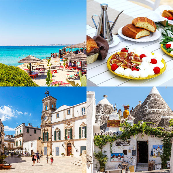 "Dreaming of Puglia...Italy's ""heel"" side."