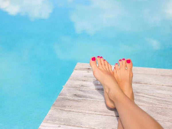 Relaxation starts with your feet with this DIY Ayurvedic foot massage.