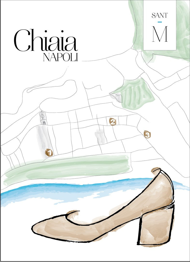 Chiaia Nappa Leather Black