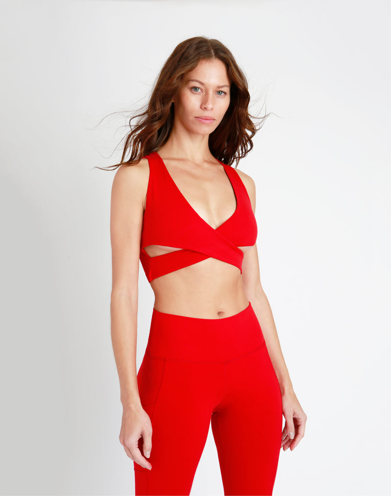 Scarlett Crossover Sports Bra