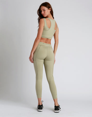 Lola Olive Green 2.0 Leggings