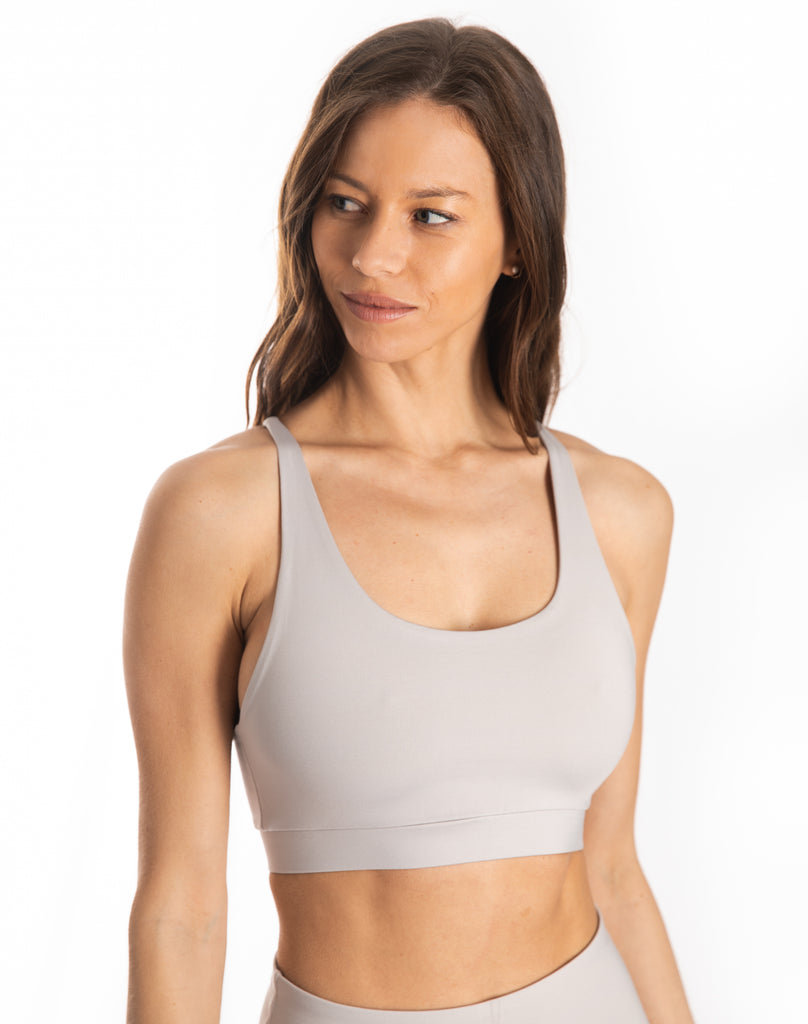 Grey Ultra+ Sports Bra