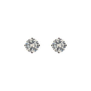 UrbnStyl Evergreen Single Stone Stud
