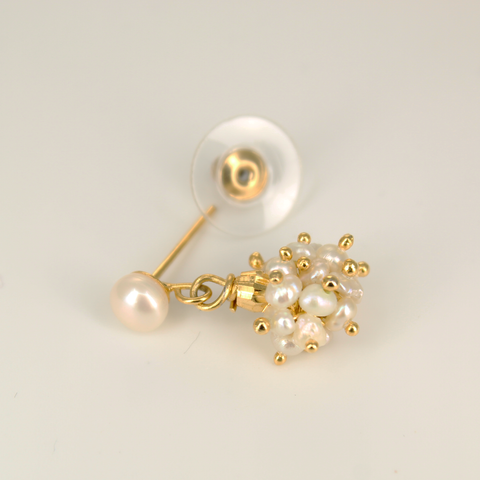 UrbnStyl Bunch of Tiny Pearls Earring Design
