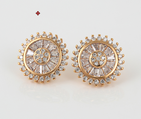 Image of UrbnStyl - Finest AD Earring in Rosegold