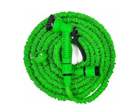 Expandable hose pipe and spray attachment