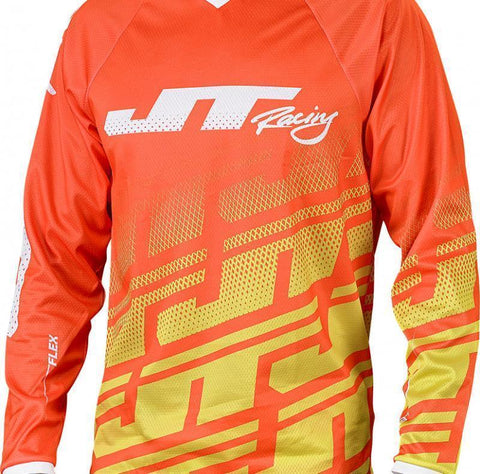 Flex Echo Jersey Orange/Neon/White