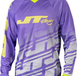 Flex Echo Jersey Purple/Grey Riding Jersey Trusport M