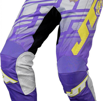 Flex Echo Pants Purple/Grey Riding Pant Trusport 28