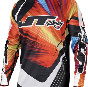Hyperlite Magneto Jersey Black/Orange Riding Jersey Trusport M