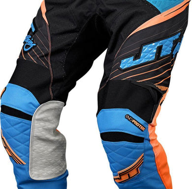 Protek Subframe Pants Blue-Orange-Cyan Riding Pant Trusport 28