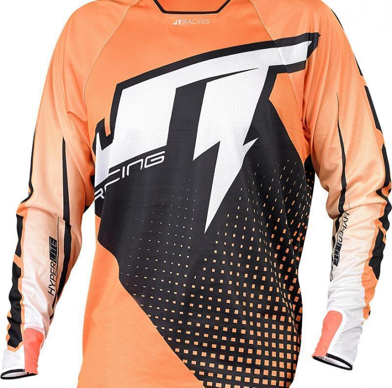 Hyperlite Voltage Jersey Black-Orange-White