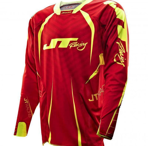 Protek Fader Jersey Red/Yellow