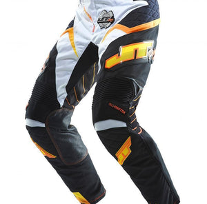 Protek Race Pants White-Black Riding Pant Trusport 28