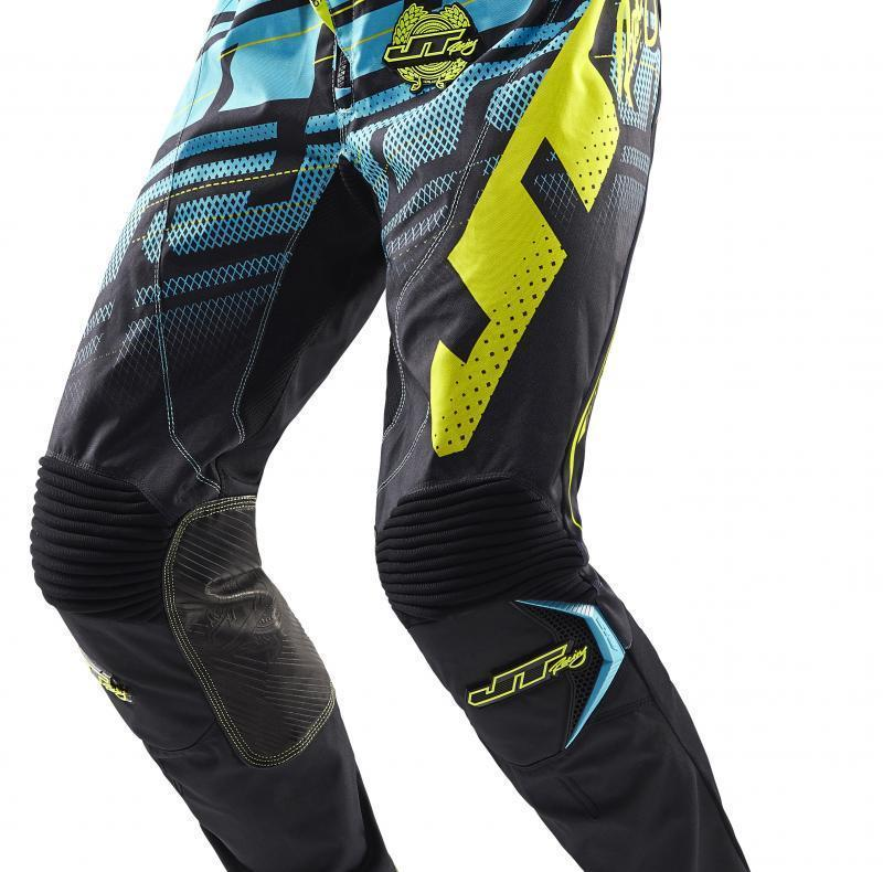 Hyperlite Echo pants Black-Ice-Chartreuse
