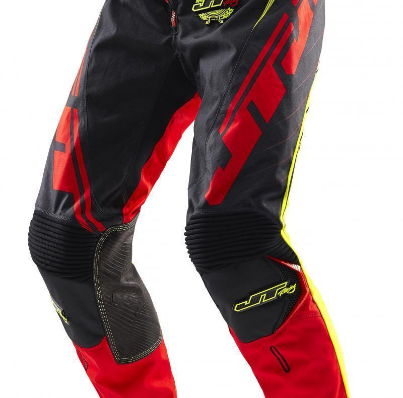 Hyperlite Razor Pants Black-Red-Chartreuse