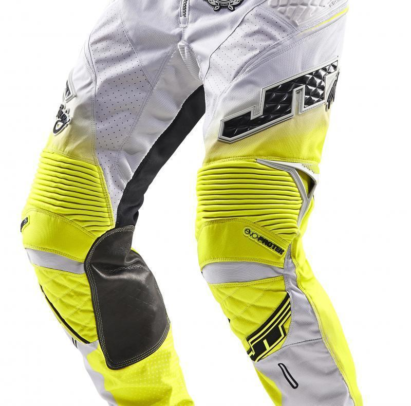 Protek V Pants Grey-Chartreuse-Black