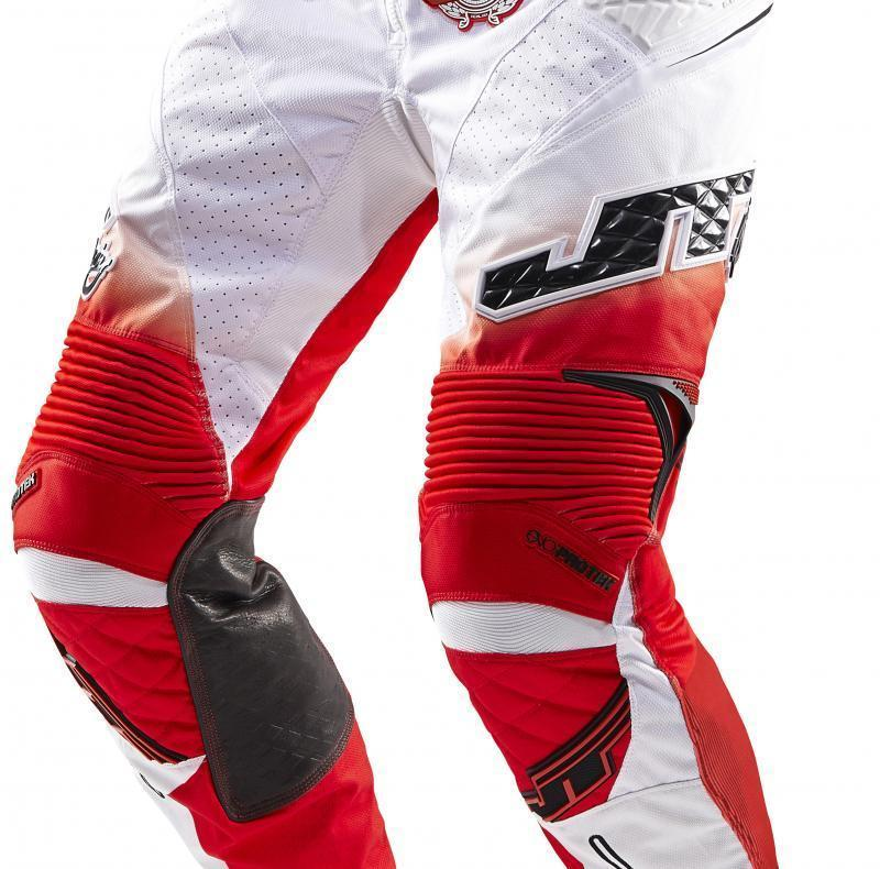 Protek V Pants White-Red-Black