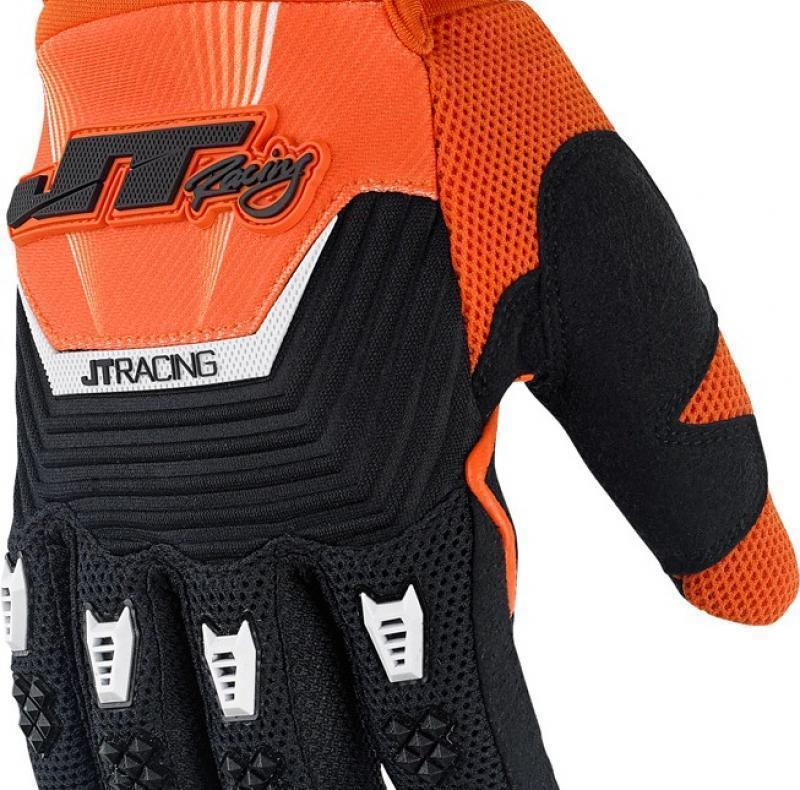 Throttle Glove Black/Orange