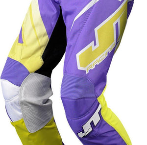 Youth Voltage Pants Purple/Yellow Youth Riding Pant Trusport 24