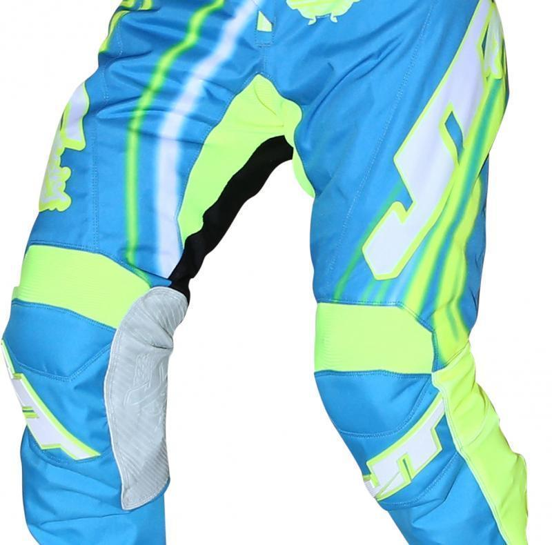 Flex Flow Pants Cyan/Yellow