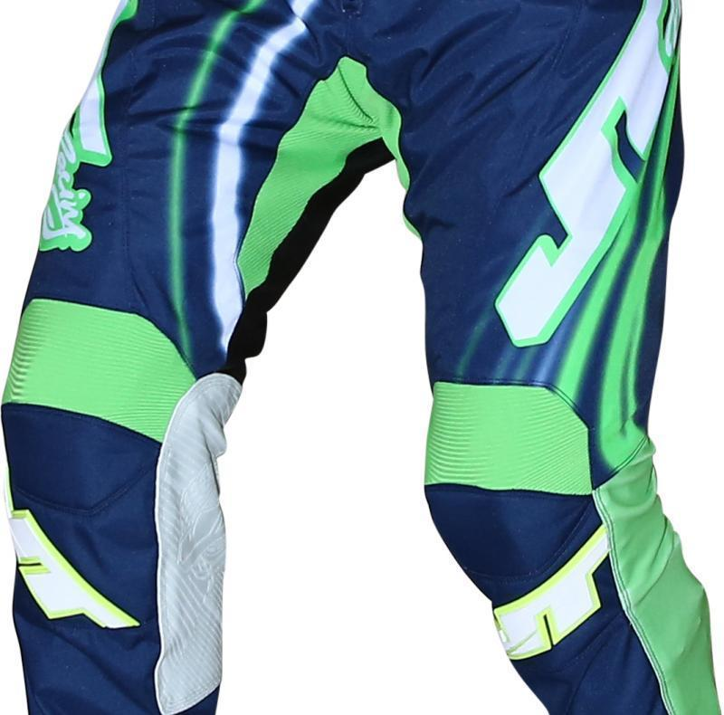 Flex Flow Pants Blue-Green-White