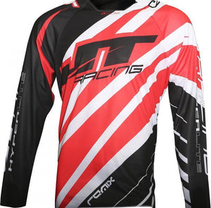 Hyperlite Remix Jersey Black/Red Riding Jersey Trusport L