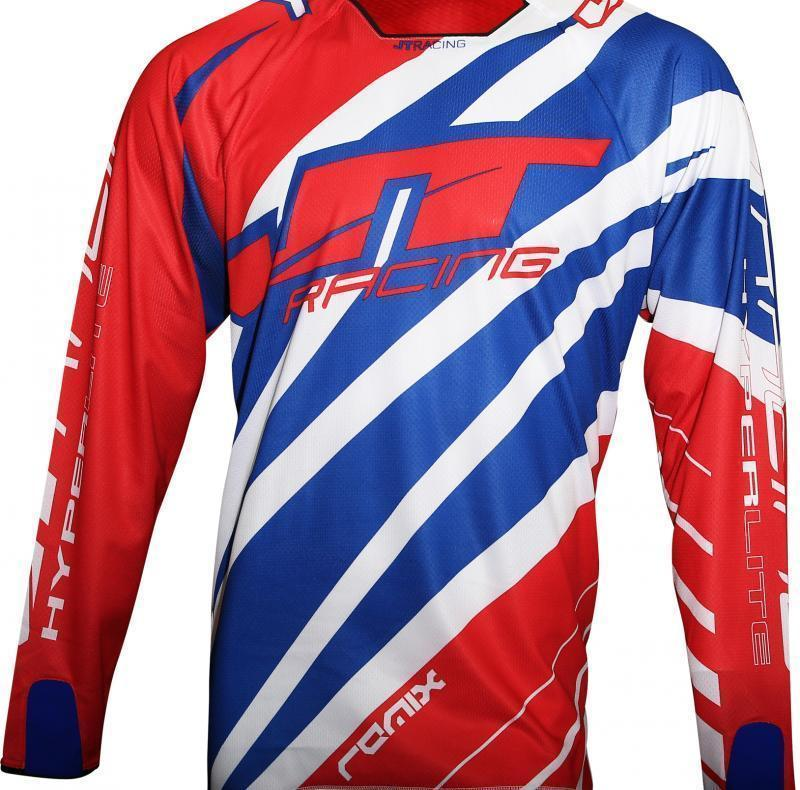 Hyperlite Remix Jersey Red-White-Blue