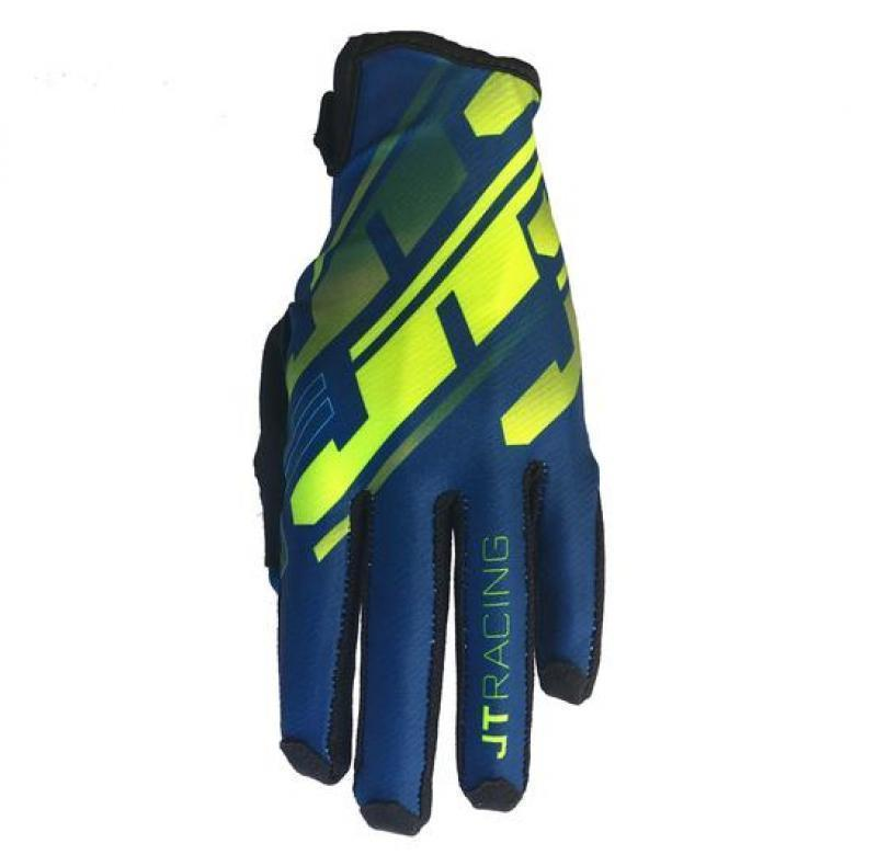 Pro-Fit Tracker Glove Navy/Neon Yellow